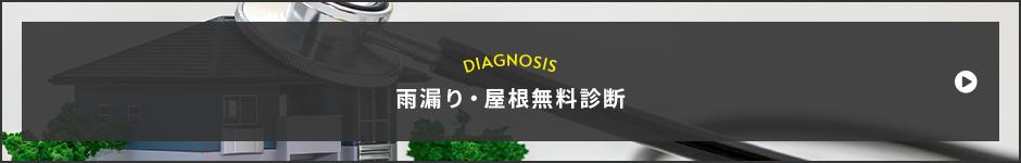 DIAGNOSIS 雨漏り・屋根無料診断