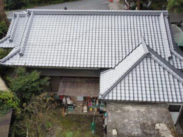 湯布院 O様邸 屋根瓦葺き替え工事